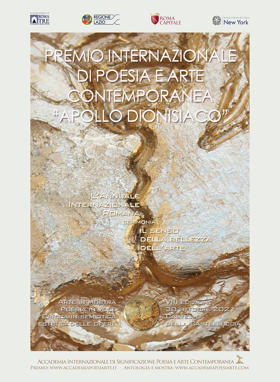 Poster Premio Apollo Dionisiaco 2021